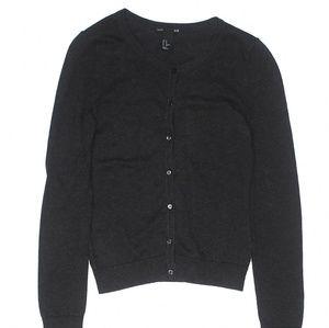 3 for $15 H&M Basic Dark Grey Cardigan